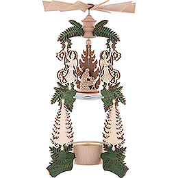 1 - Tier Pyramid  -  Angel Nativity  -  26,5cm / 10.4 inch