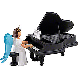 Angel Long Pleated Skirt at the Piano, Colored  -  6,6cm / 2.6 inch