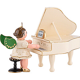 Angel on the Piano  -  6,5cm / 2,5 inch
