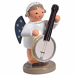Angel with Banjo  -  5m / 1 inch