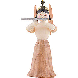 Angel with Cross Flute  -  7cm / 2.8 inch