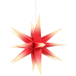 Annaberg Folded Star for Indoor Red - Yellow  -  58cm / 22.8 inch