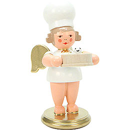Baker Angel with Flour Sifter  -  7,5cm / 3 inch