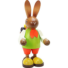 Bunny (male) with Eggs in Basket  -  22,5cm / 9 inch