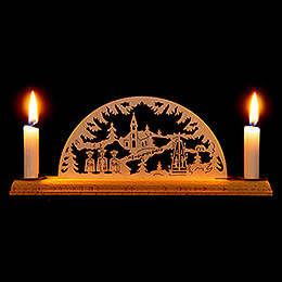 Candle Arch  -  Christmas  -  29x8cm / 11.4x3.1 inch