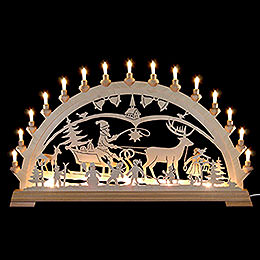 Candle Arch  -  Christmascountry  -  84x49cm/33x19 inch