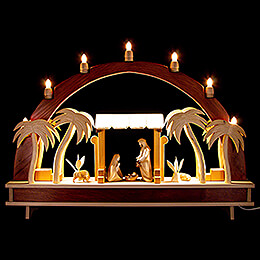 Candle Arch  -  Holy Family  -  70x51cm / 27.6x20.1 inch