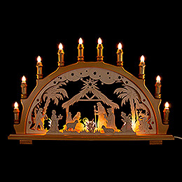 Candle Arch  -  Nativity    -  66x44cm / 26x17.3 inch