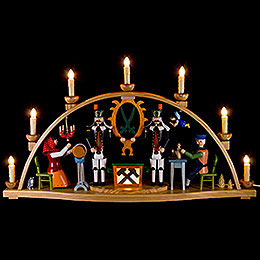 Candle Arch  -  Ore Mountain Theme  -  66x37cm / 26x15 inch