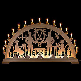Candle Arch  -  Ore Mountains  -  100x54cm / 39.4x21.3 inch