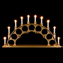 Candle Arch without Angels  -  Natural  -  70x40cm / 27.5x15.7 inch