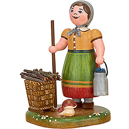 Country Idyll Peasant Woman  -  7cm / 2.8 inch