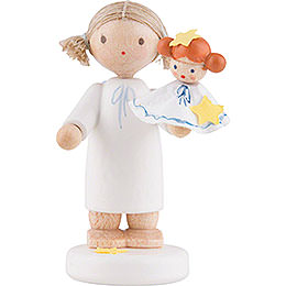 Flax Haired Angel with Kathrinchen  -  5cm / 2 inch