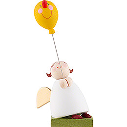 Guardian Angel with Balloon with Face  -  3,5cm / 1.3 inch