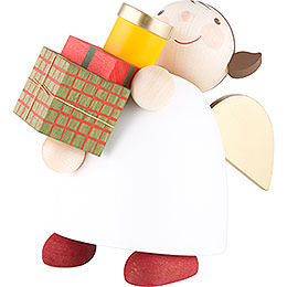 Guardian Angel with Gifts  -  16cm / 6.3 inch