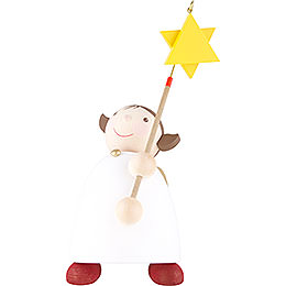 Guardian Angel with Star on a Stick  -  26cm / 10.3 inch