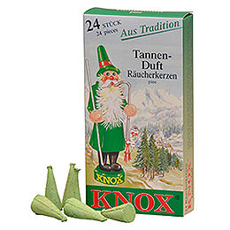 Knox Incense Cones  -  Pine Tree