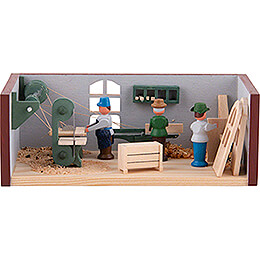 Miniature Room  -  Joinery  -  4cm / 1.6 inch