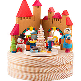 Music Box Christmas Market  -  11,5cm / 4.5 inch