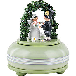 Music Box Wedding  -  15cm / 5.9 inch