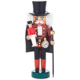 Nutcracker  -  Drosselmeyer Brown - Black  -  13cm / 5.1 inch