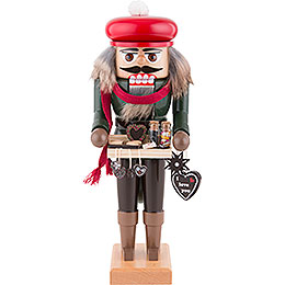 Nutcracker  -  Gingerbread Salesman  -  27cm / 11 inch