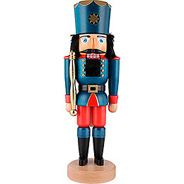 Nutcracker  -  King Blue Glazed  -  39,5cm / 15.5 inch