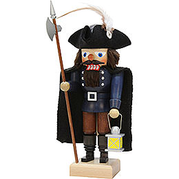 Nutcracker  -  Nightwatchman Blue  -  25cm / 9.8 inch