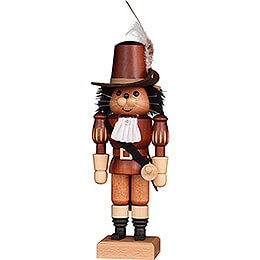 Nutcracker  -  Puss in Boots Natural  -  27,5cm / 10.8 inch