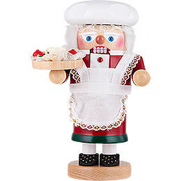 Nutcracker  -  Troll Mrs. Claus  -  27cm / 10.6 inch