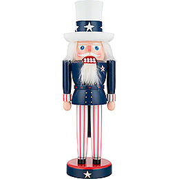 Nutcracker  -  Uncle Sam  -  29cm / 11 inch