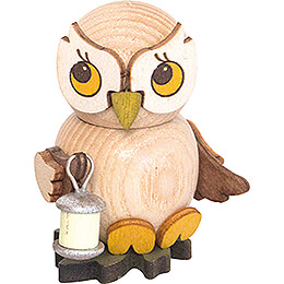 Owl Child with Lampion  -  4cm / 1.6 inch