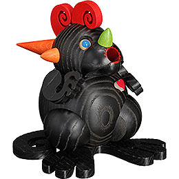 Smoker  -  Dragon 'Black Dragon Heart'  -  Ball Figure  -  11cm / 4.3 inch