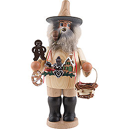 Smoker  -  Gingerbread Salesman  -  20,5cm / 8 inch