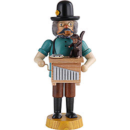 Smoker  -  Hand Organ Player  -  18cm / 7 inch