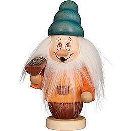 Smoker  -  Mini Gnome Happy  -  15cm / 5.9 inch