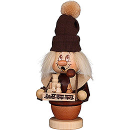 Smoker  -  Mini Gnome Toy Salesman  -  17cm / 6.7 inch
