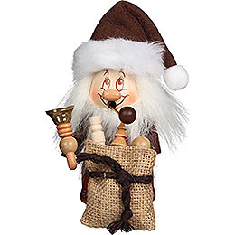Smoker  -  Minignome Santa Claus with Bell  -  15,5cm / 6.1 inch