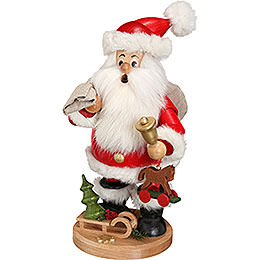 Smoker  -  Santa Claus with Presents  -  22cm / 9 inch