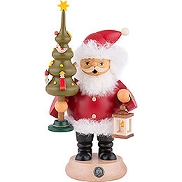 Smoker  -  Santa Claus with Tree  -  20cm / 8 inch