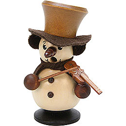 Smoker  -  Snowboy with Violin Natural  -  10,5cm / 4 inch
