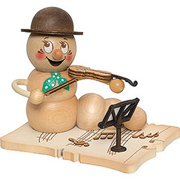Smoker  -  Worm Violin Player Rudi  -  14cm / 5.5 inch