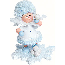 Snowflake Snowball Fight  -  5cm / 2 inch
