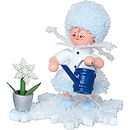 Snowflake with Watering Can  -  5cm / 2 inch
