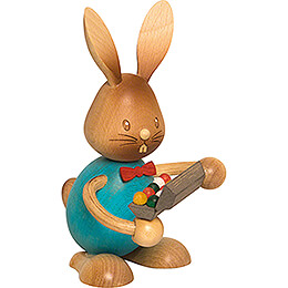 Snubby Bunny with Egg Box  -  12cm / 4.7 inch