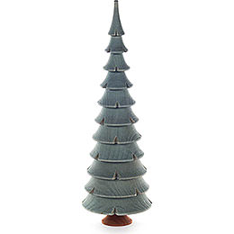 Solid Wood Tree  -  Green  -  21cm / 8.3 inch
