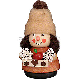 Teeter Man Gingerbread Seller Natural  -  8,5cm / 3.3 inch
