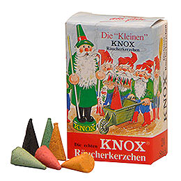 """The Small Ones"" Knox Mini Incense Cones  -  Mix of Fragrances  -  24 pcs."
