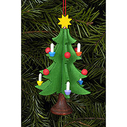 Tree Ornament  -  Christmastree  -  5,0x9,8cm / 2x4 inch