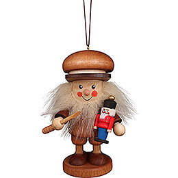 Tree Ornament  -  Nutcracker Maker Natural  -  9,5cm / 3.7 inch
